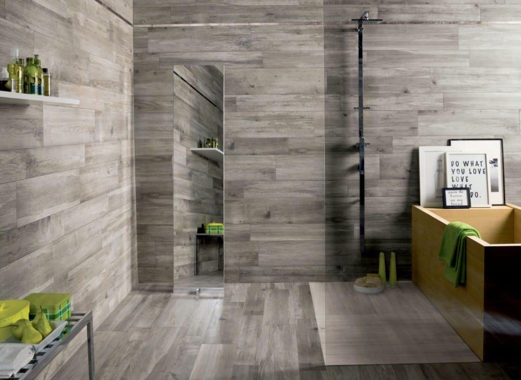 Fesselnd Badezimmer Grau Modern