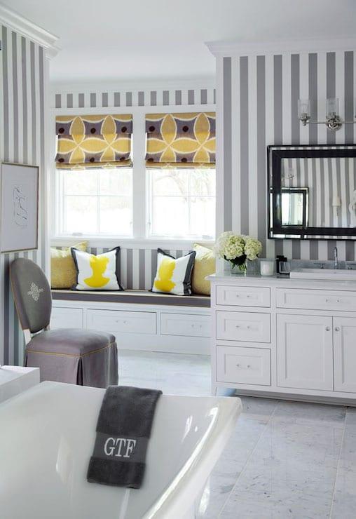 Badezimmer grau und gelb freshouse - Badezimmer grau ...