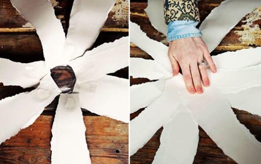 basteln mit papier f r coole diy gartendeko mit diy blumen freshouse. Black Bedroom Furniture Sets. Home Design Ideas