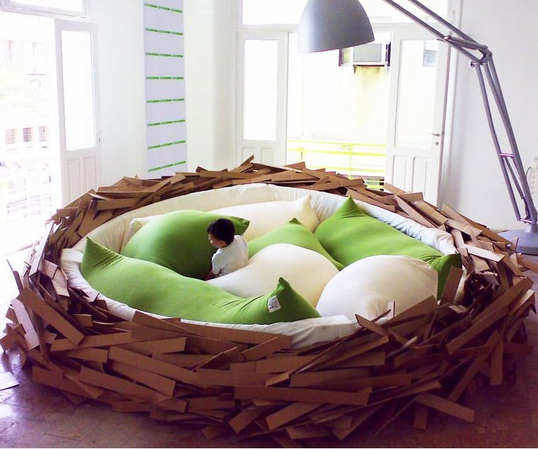 Coole ideen kinderzimmer mit bett the bird 39 s nest freshouse for Coole kinderzimmer