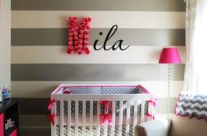 Coole Madchen Babyzimmer Gestaltung Und Babyzimmer Streichen In Grau