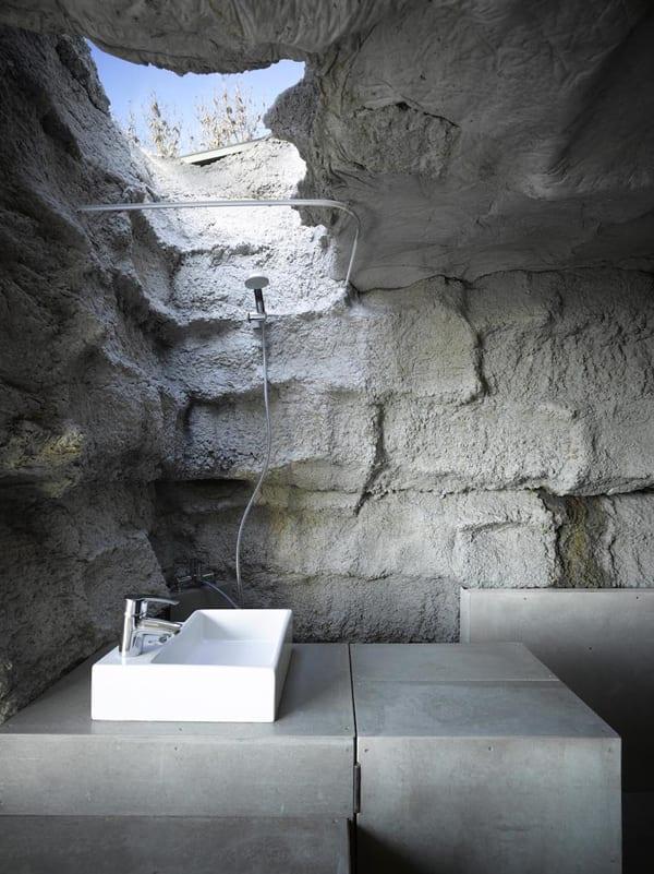 Das Projekt Trufa Mit Modernes Badezimmer Und Offene Dusche Freshouse