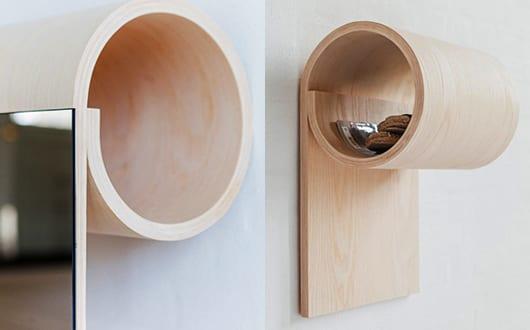 funktionale Zimmereinrichtung kleiner Wohnung