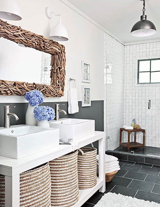 fliesen ideen für badezimmer grau - fresHouse