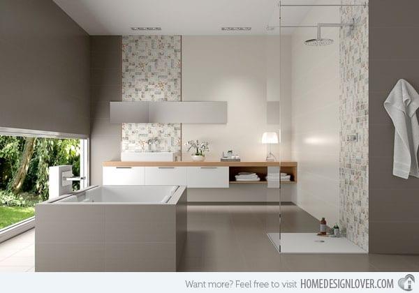 Schon Idee Für Modernes Badezimmer Grau