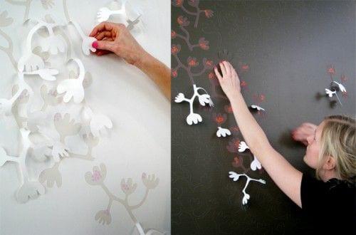 Wundervoll Ideen Für Wandgestaltung Farbe