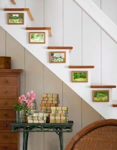 Ideen Für Wandgestaltung Von Der Treppe