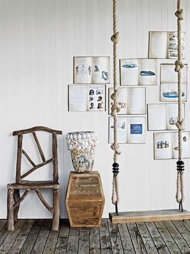 Elegant Ideen Für Wandgestaltung Von Weißer Wand Mit Büchern