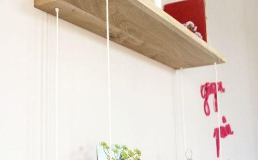 ideen f r wandgestaltung wohnzimmer mit diy wandregal. Black Bedroom Furniture Sets. Home Design Ideas