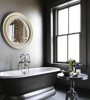 Innendesign Badezimmer Grau Freshouse