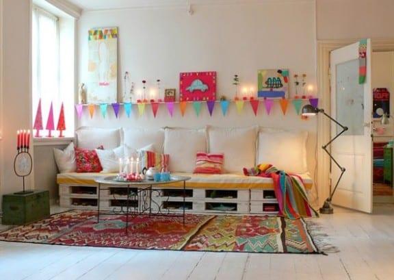 Kinderzimmer Gestalten Mit Sofa Aus Europaletten - Freshouse