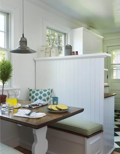 kleine küche weiß mit sitzecke küche - fresHouse