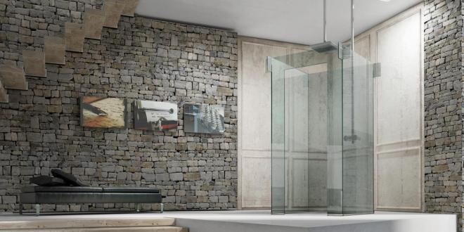 Luxus Badezimmergestaltung Mit Icona Duschkabine Von Megius
