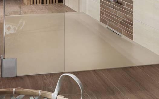 Schon Moderne Badezimmer Einrichten Mit Dusche Bodengleich In Beige