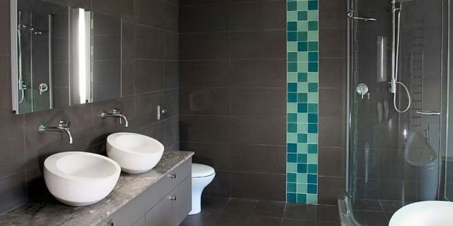 Hochwertig Modernes Badezimmer Grau