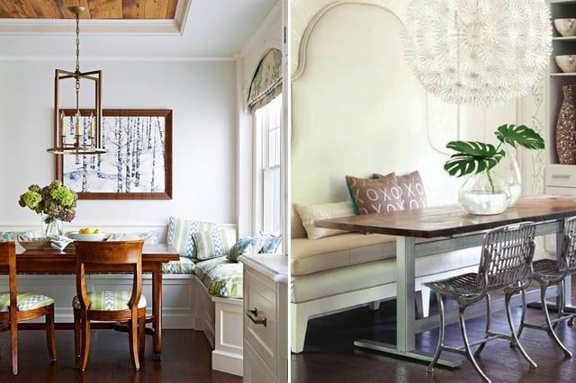 rustikale sitzecke k che f r k che wei freshouse. Black Bedroom Furniture Sets. Home Design Ideas