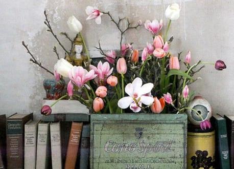 Frühlingsdeko frühlingsdeko mit frühlingsblumen freshouse