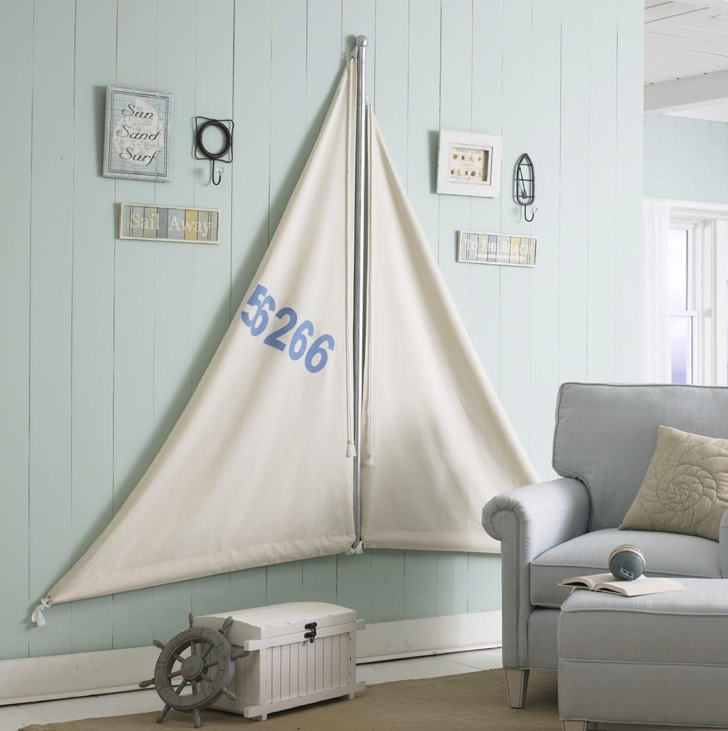 Wanddeko Kinderzimmer Ideen In Hellblau Freshouse