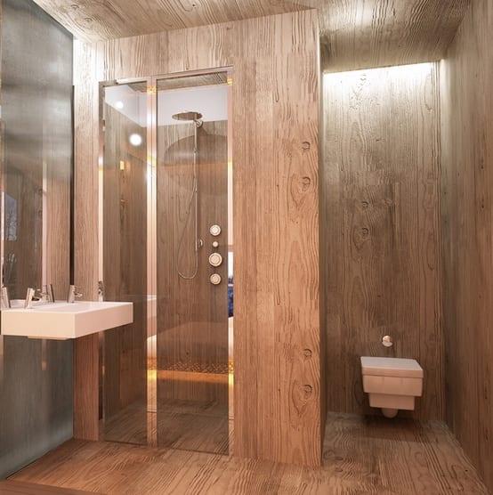 badezimmer holz beispiele - fresHouse