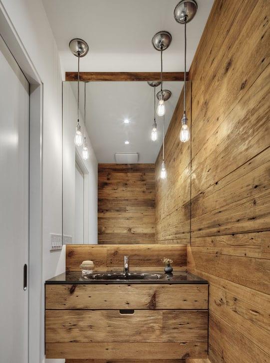 Badezimmer Holz Interior Design Für Kleine Badezimmer