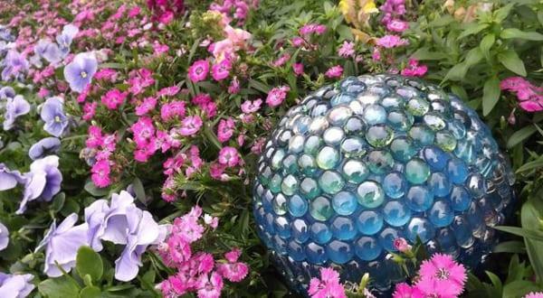 Coole Gartendeko Mit Glaskugel Als Idee Für Gartendeko Selber Machen