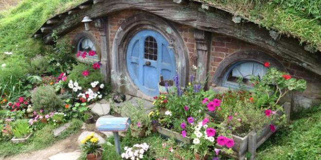 Coole idee f r gartendeko mit hobithaus freshouse for Gartendeko idee