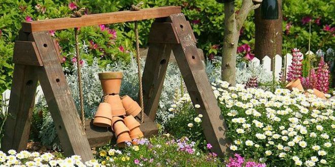 Coole Ideen Gartendeko Holz