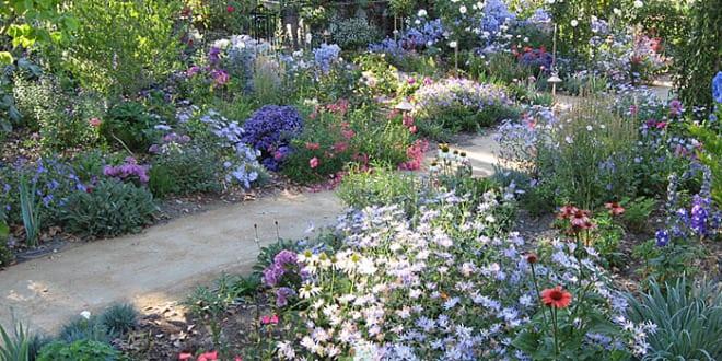 Cottage garden ideen f r gartengestaltung mit for Gartengestaltung cottage