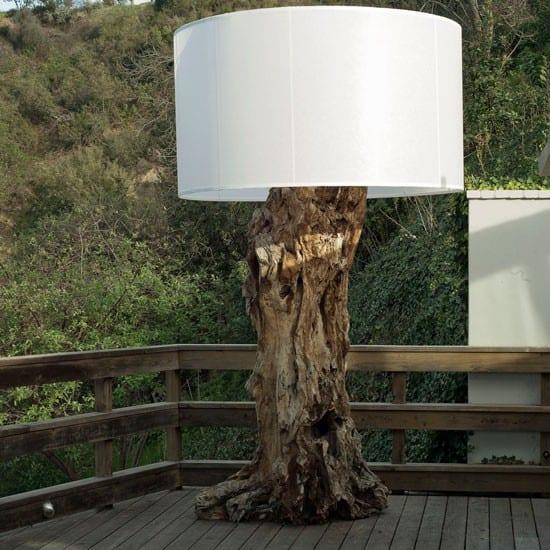 Fantastische Idee Fur Gartendeko Mit Lampe Von Devon Driftwood