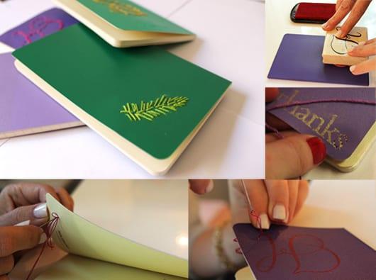 Geile Geschenkidee Mit Diy Notizbuch Als Idee Furs