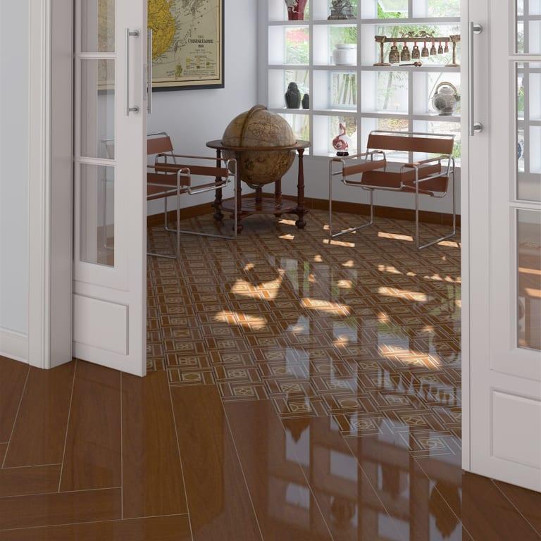 Keramikfliesen mit holzoptik f r moderne raumgestaltung for Raumgestaltung 2015