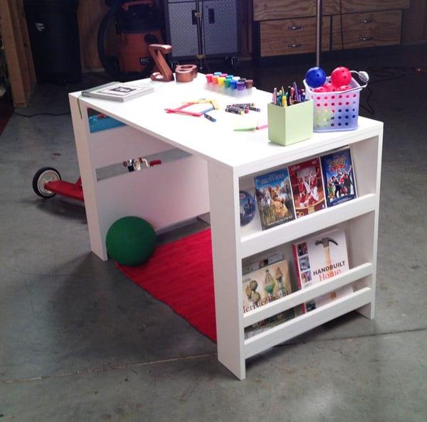 Kinder schreibtisch wei selber bauen freshouse for Schreibtisch selber bauen