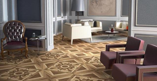 luxus wohnzimmer inspirationen mit wandfarbe grau und bodenfliesen in holzoptik urbino freshouse. Black Bedroom Furniture Sets. Home Design Ideas