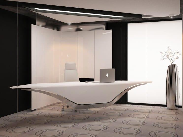 Moderne büromöbel weiss  moderne Einrichtung für Büroräume in weiß - fresHouse