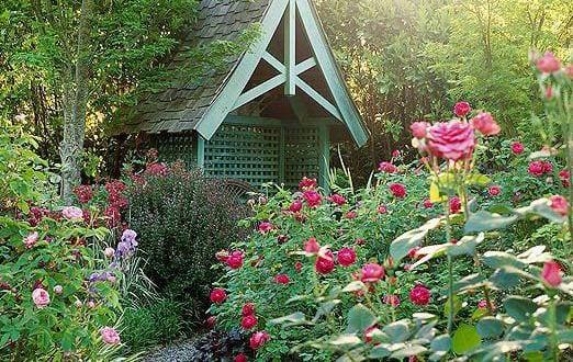 Rosengarten als gartengestaltung der gartenform for Gartengestaltung joanna