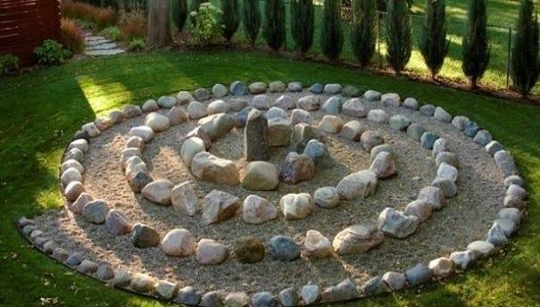 steingarten als idee für coole gartendeko selber machen - fresHouse