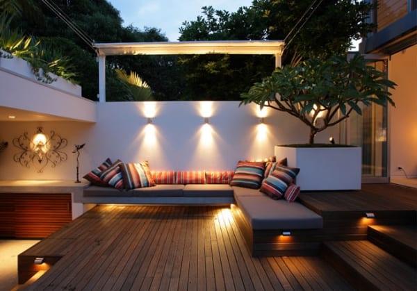 Sitzecke Terrasse traumgarten auf dem balkon mit sitzecke und terrassendiele freshouse