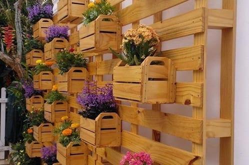 Vertikaler garten selber machen als gartendeko idee for Gartendeko idee