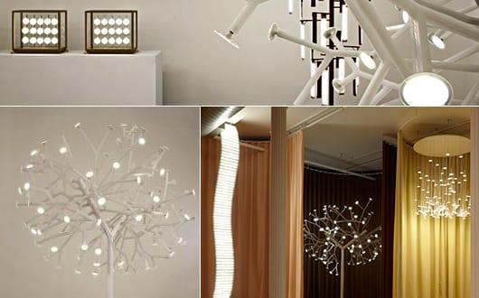 weiße-Stehelampe-OLED-Tree-für-modernes-Interior-Design