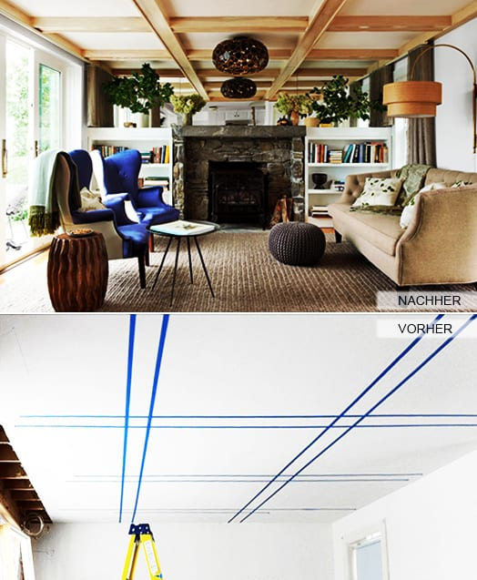 Deckengestaltung-mit-Holzlatten-als-Idee-zum-Zimmer