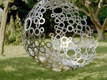 Kugel h ngesessel als kreative gartendeko idee freshouse for Kreative gartendeko