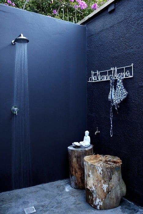 Badezimmer Blau Streichen
