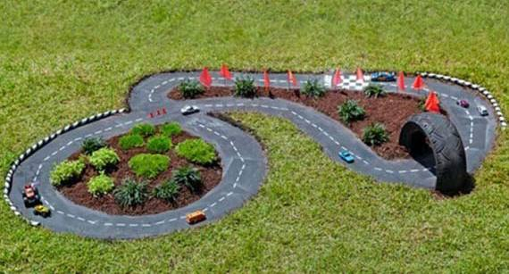 coole idee für DIY kinderspielplatz