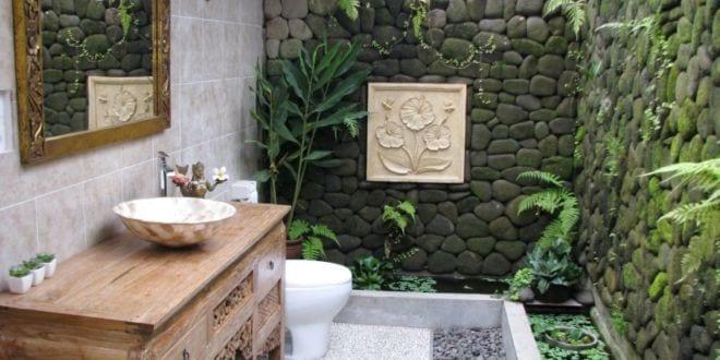 coole idee für kleines badezimmer im hofgarten mit badezimmer kommode aus holz