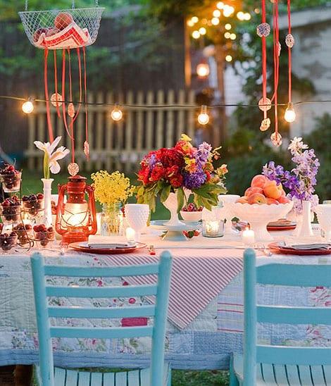 Deko Idee Fur Party Im Garten Und Coole Tischdeko Freshouse
