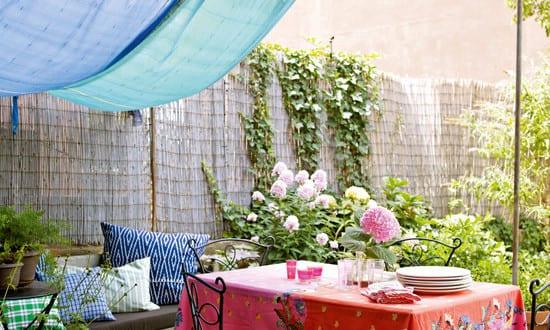 Deko ideen f r gartenparty mit diy sonnensegel freshouse - Gartenparty deko ideen ...