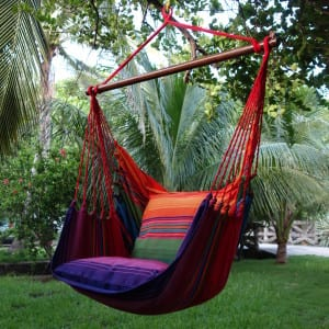 XL hammock hanging chair colourful