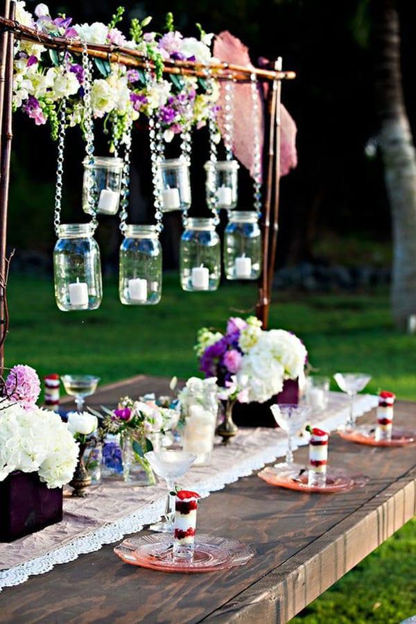 Fantastische Idee Für Tischdeco Und Gartenparty Dekoration - Freshouse