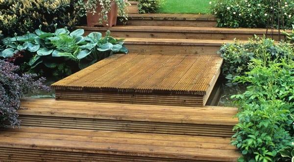 inspiration für Gartentreppe aus holz
