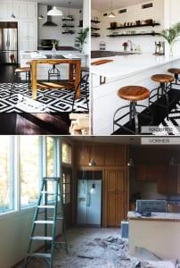 kleine-Küche-mit-Bar-renovieren